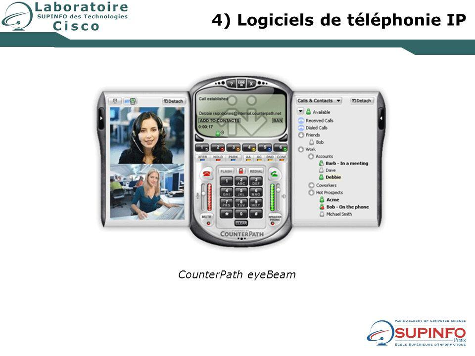 4) Logiciels de téléphonie IP