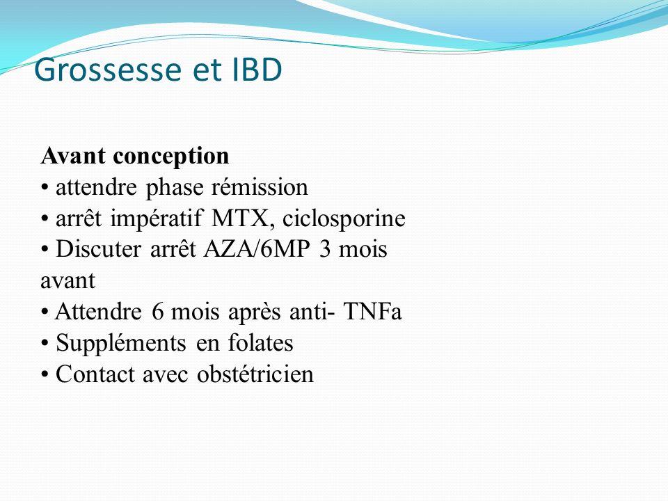 Grossesse et IBD