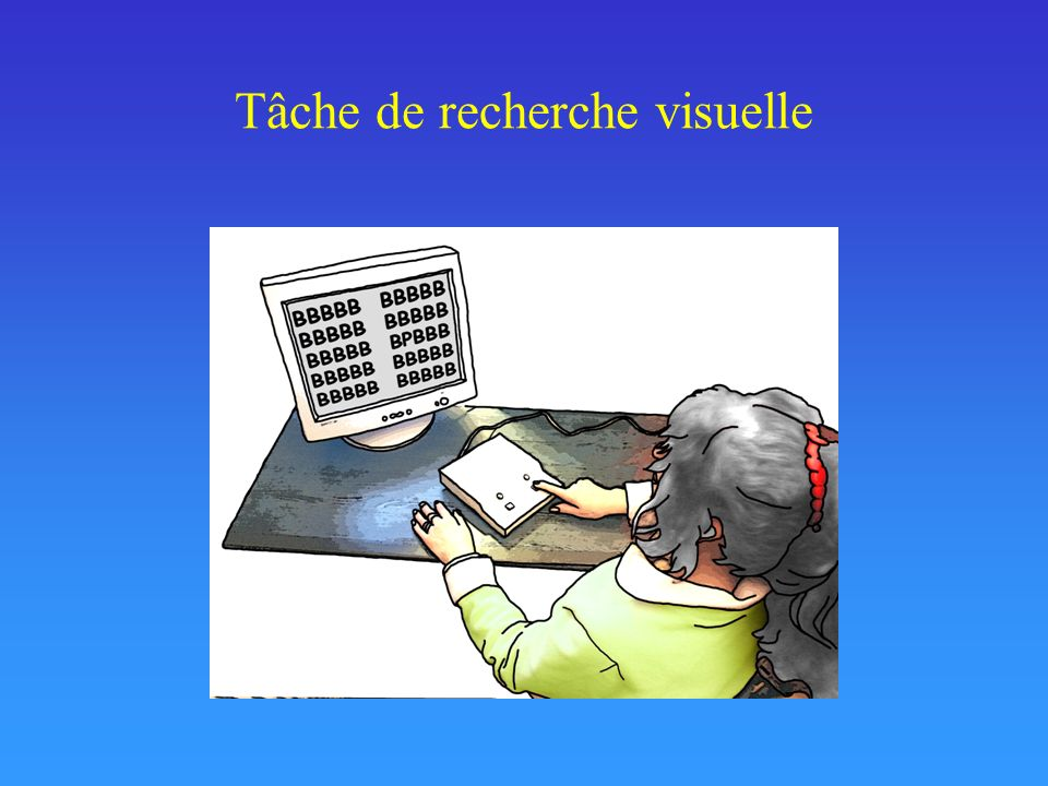Tâche de recherche visuelle