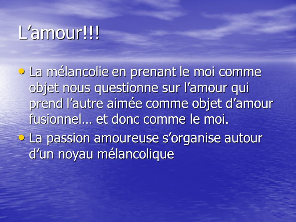 L'amour!!!