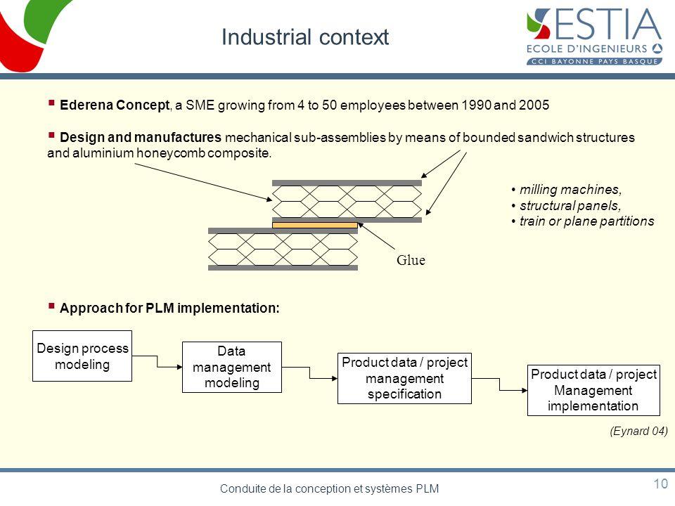 Conduite de la conception et systèmes PLM