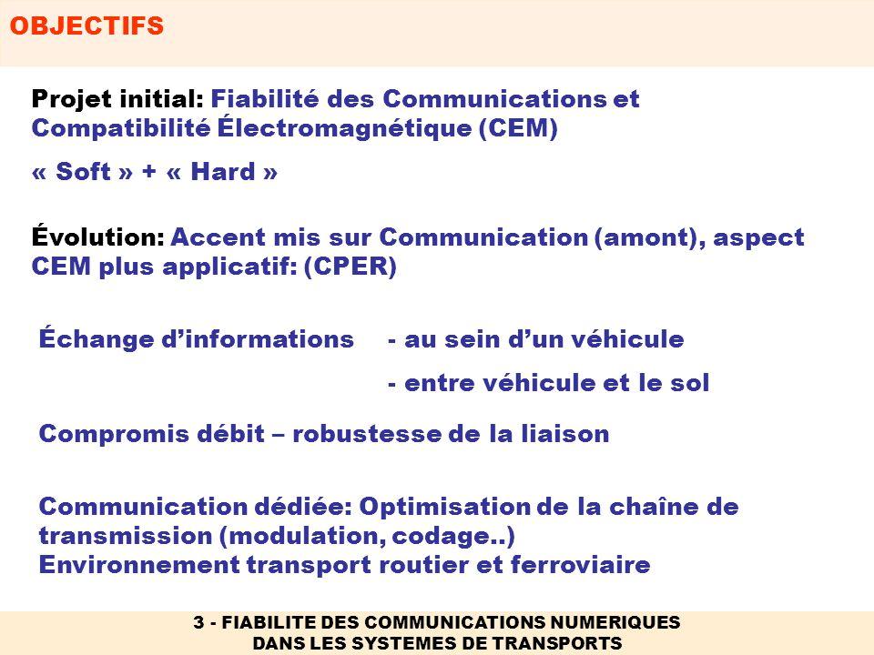 Échange d'informations - au sein d'un véhicule