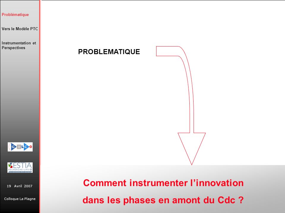 Comment instrumenter l'innovation dans les phases en amont du Cdc