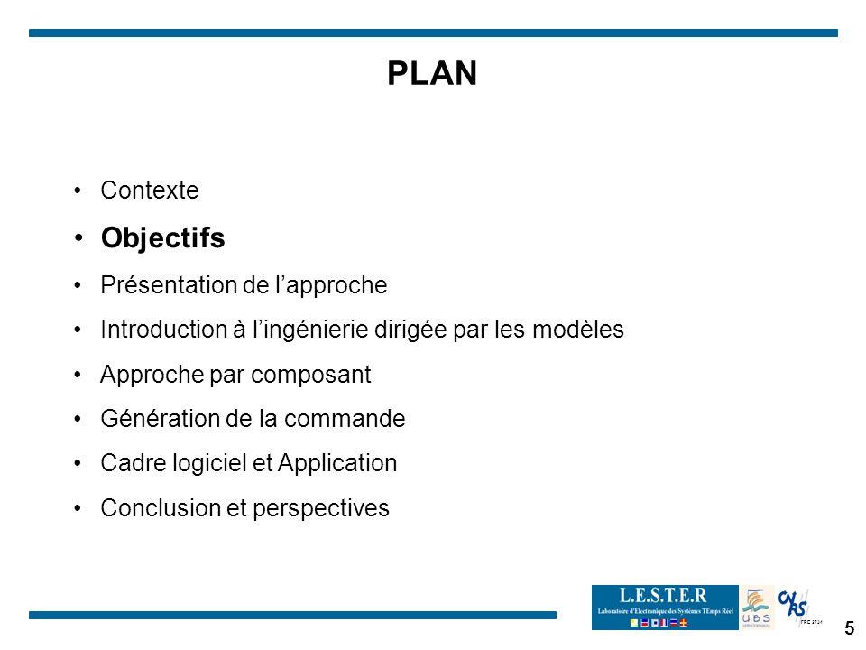 PLAN Objectifs Contexte Présentation de l'approche