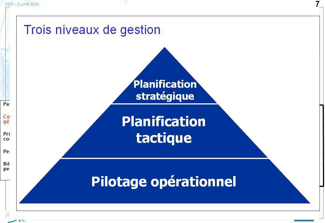 synchronisation des flux planification industrielle