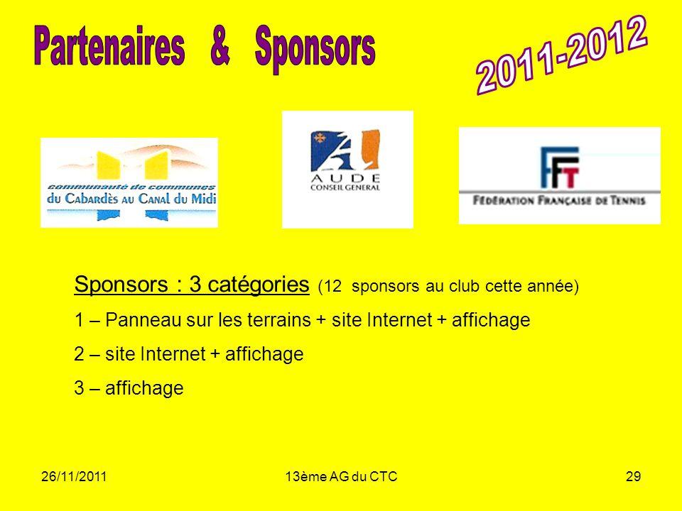 Partenaires & Sponsors