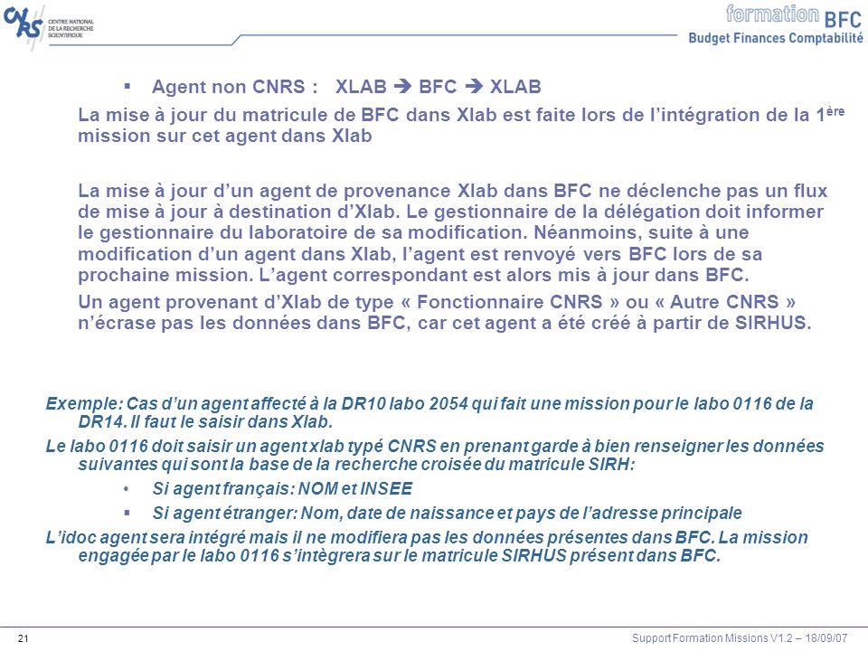 Agent non CNRS : XLAB  BFC  XLAB