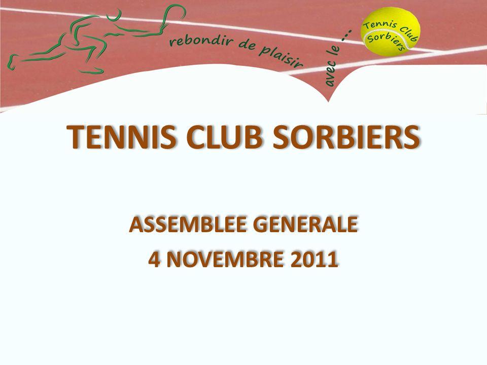 ASSEMBLEE GENERALE 4 NOVEMBRE 2011