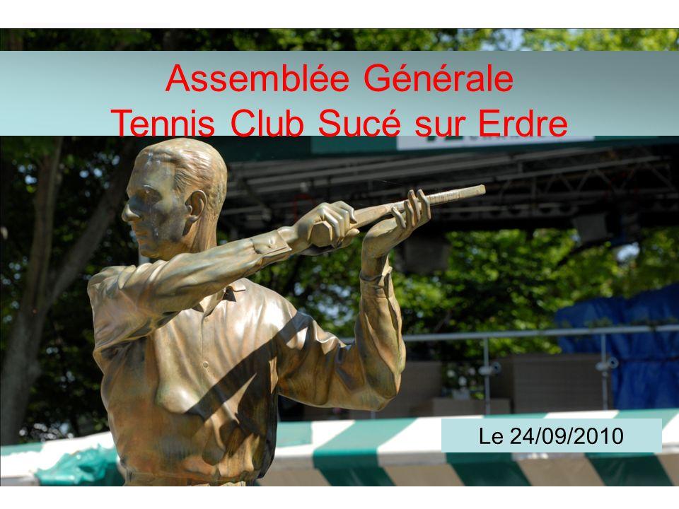 Assemblée Générale Tennis Club Sucé sur Erdre