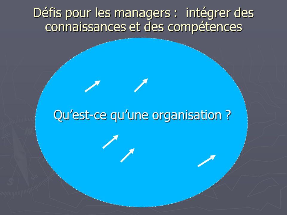 Qu'est-ce qu'une organisation