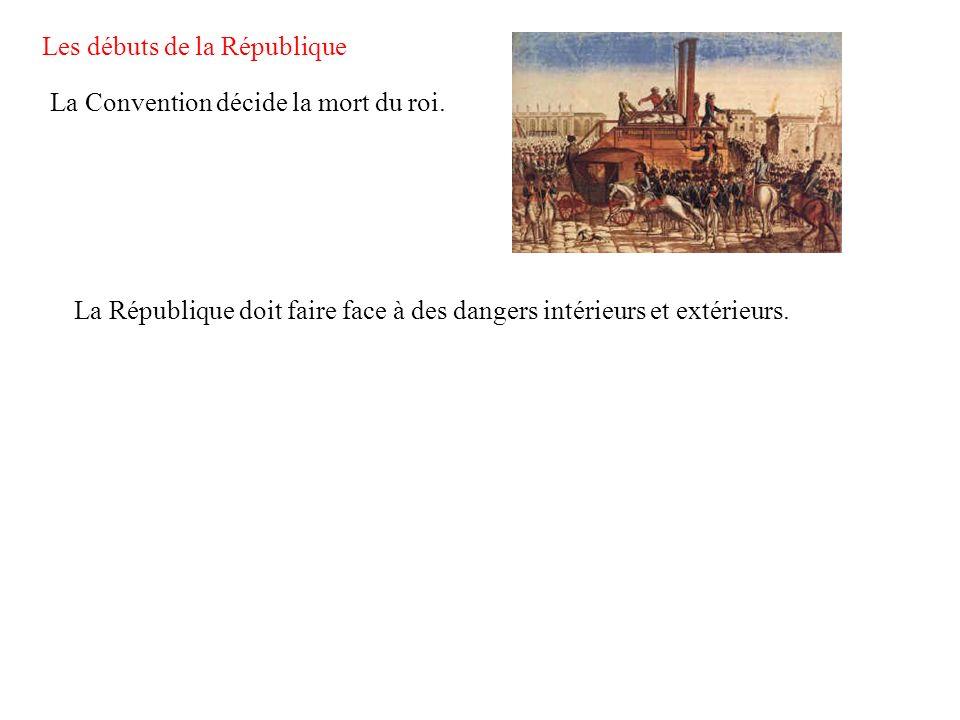 Les débuts de la République