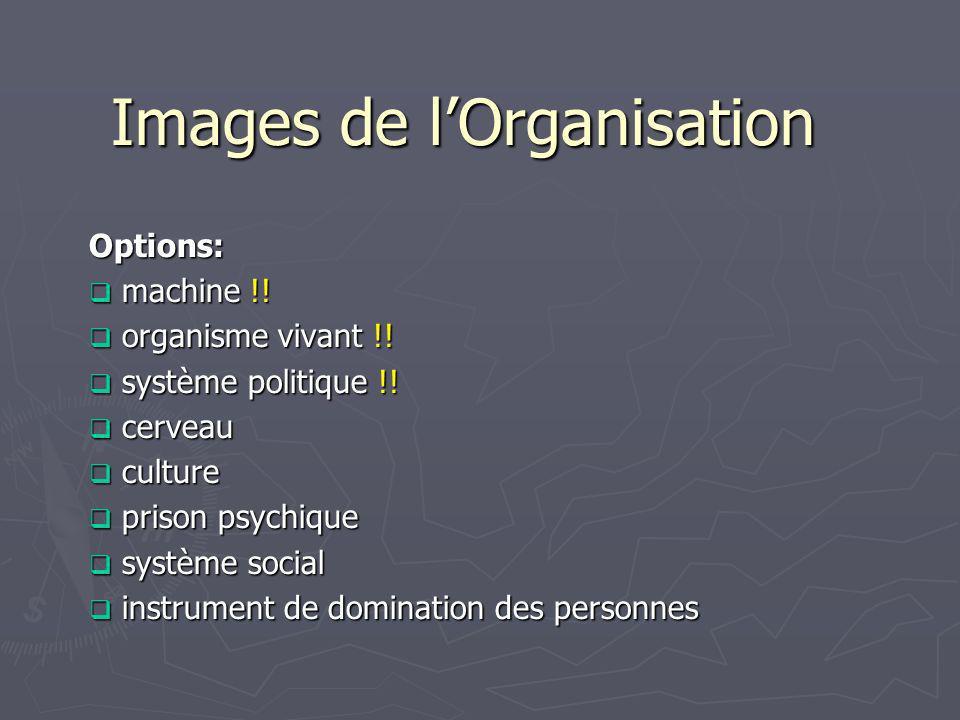Images de l'Organisation