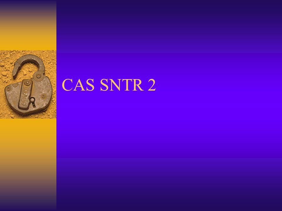 CAS SNTR 2