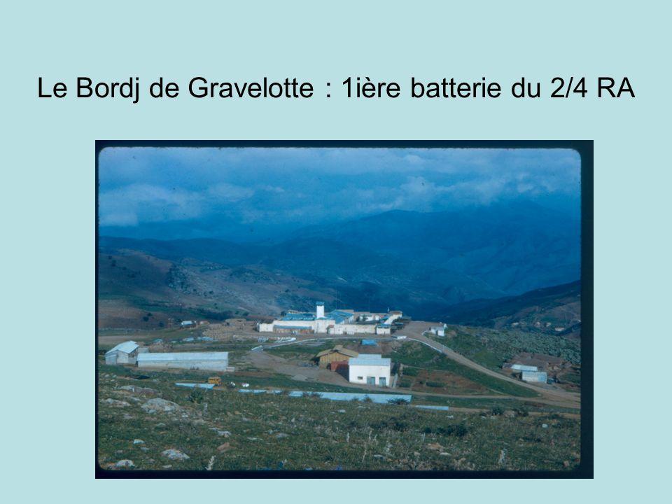 Le Bordj de Gravelotte : 1ière batterie du 2/4 RA