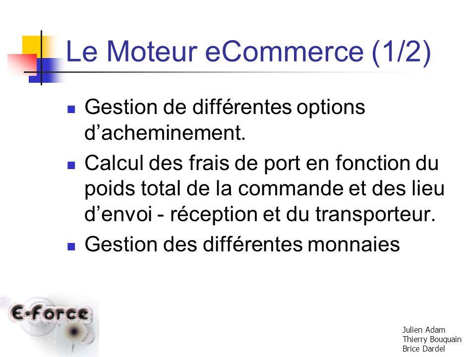 Le Moteur eCommerce (1/2)