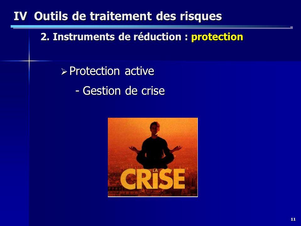IV Outils de traitement des risques 2