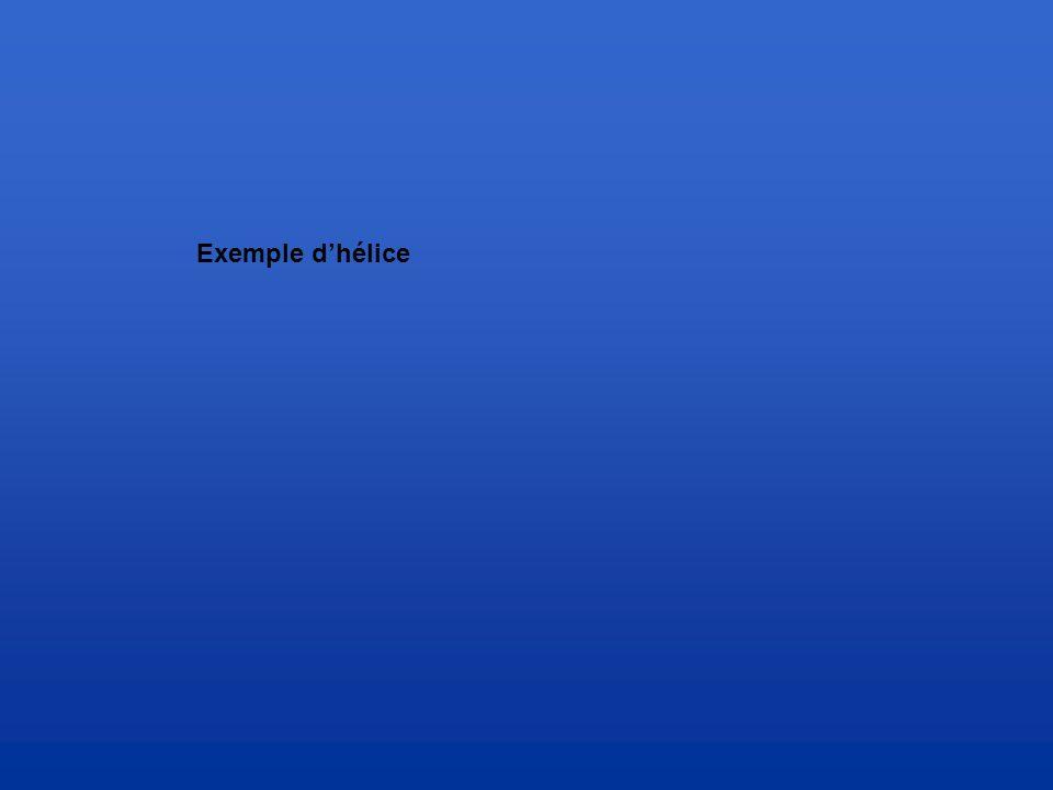 Exemple d'hélice