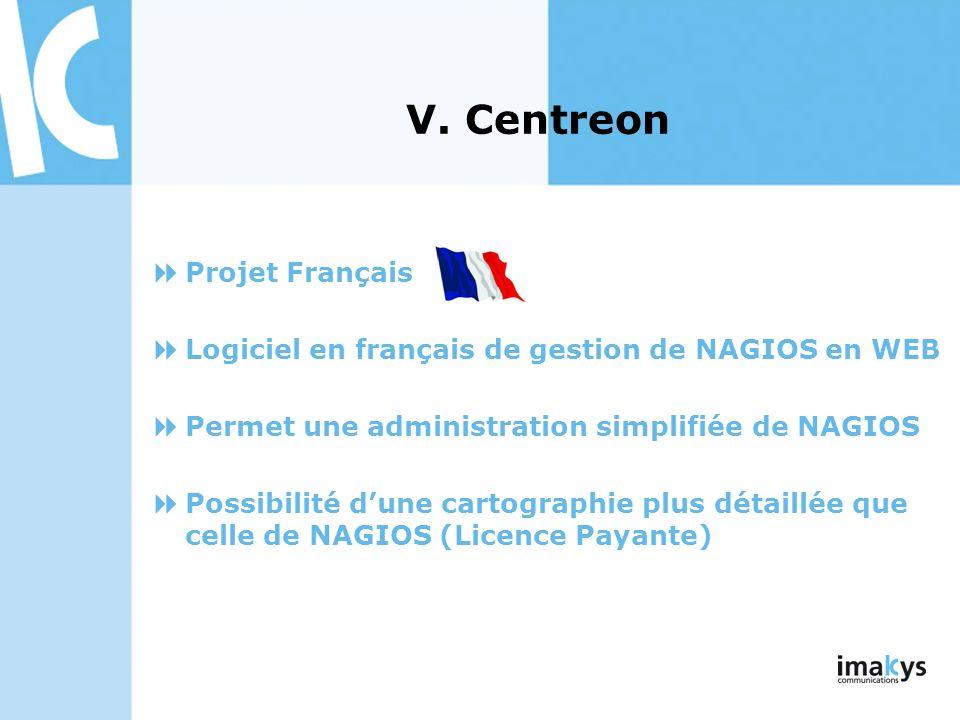 V. Centreon Projet Français