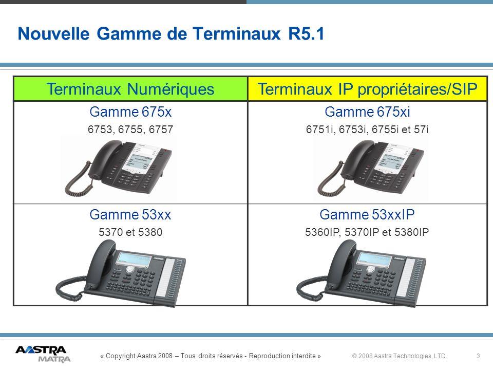 Nouvelle Gamme de Terminaux R5.1