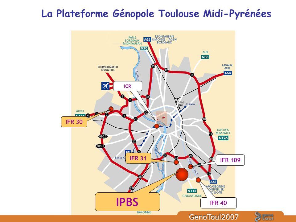 La Plateforme Génopole Toulouse Midi-Pyrénées