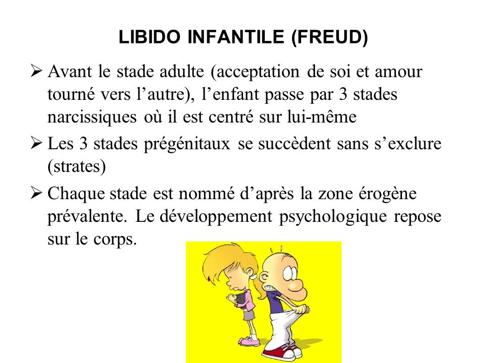 LIBIDO INFANTILE (FREUD)