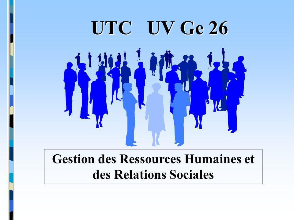 Gestion des Ressources Humaines et des Relations Sociales