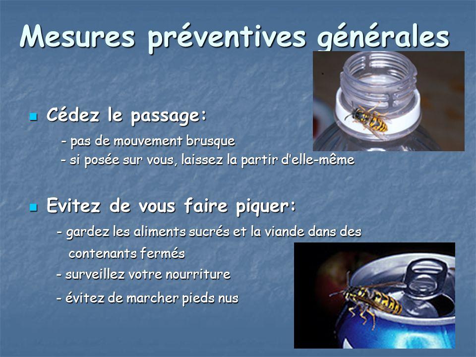 Mesures préventives générales