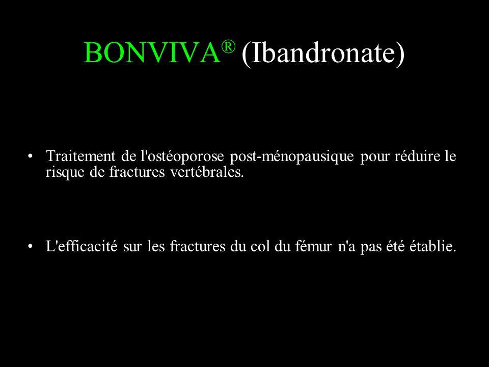 BONVIVA® (Ibandronate)