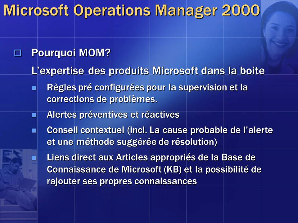 Microsoft Operations Manager 2000