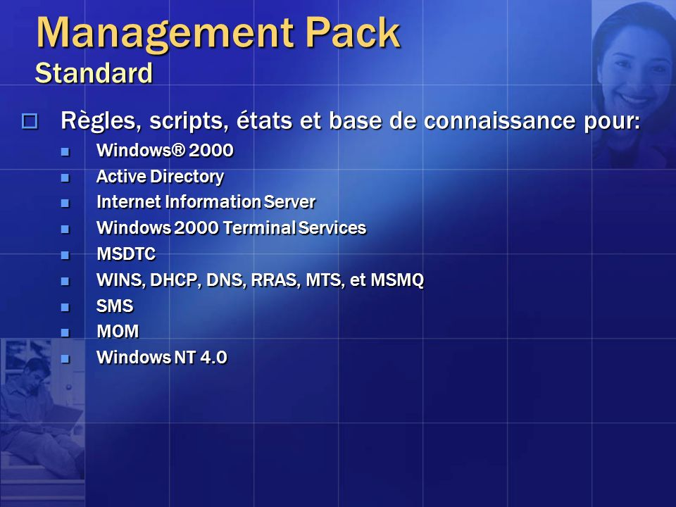 Management Pack Standard