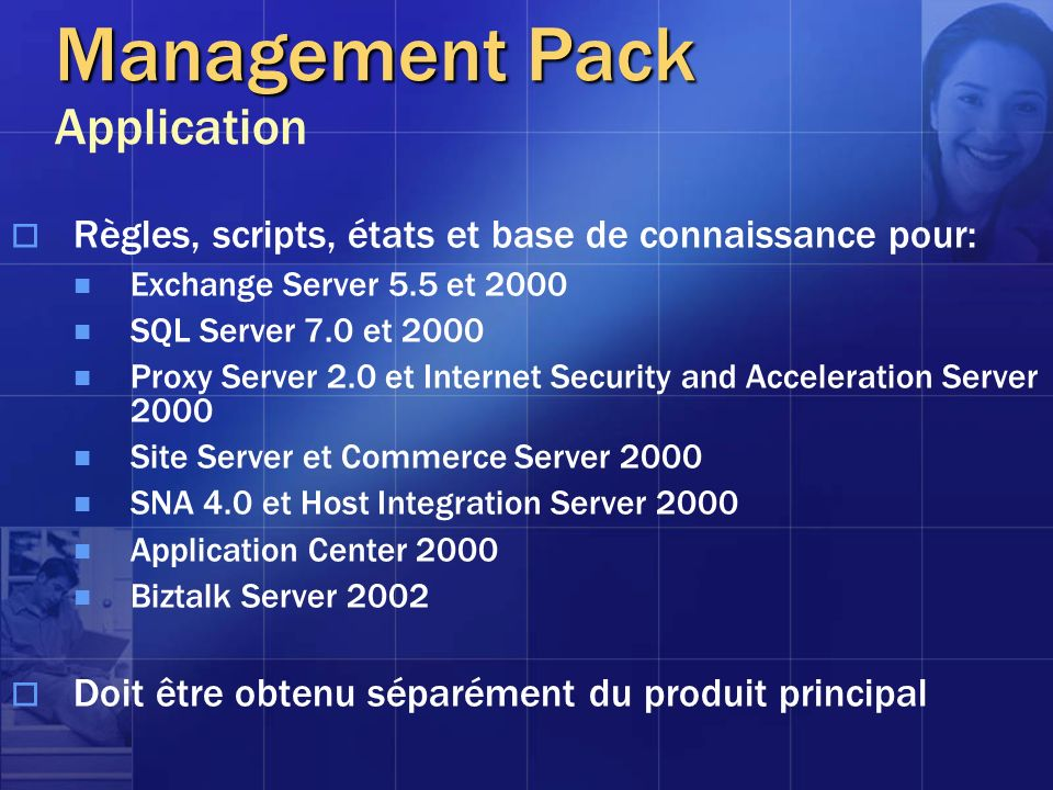 Management Pack Application