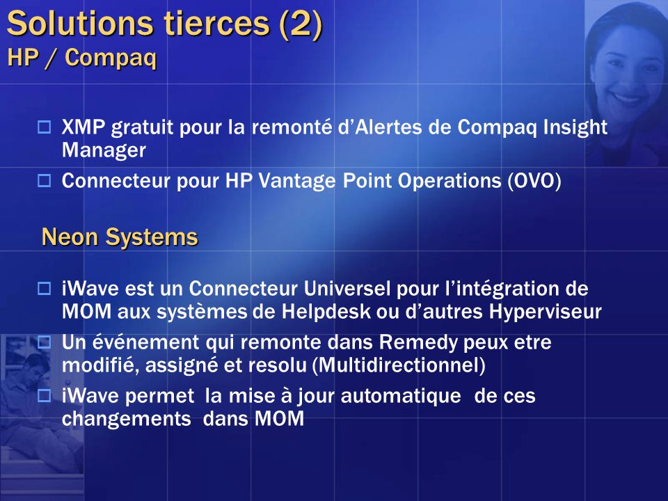 Solutions tierces (2) HP / Compaq