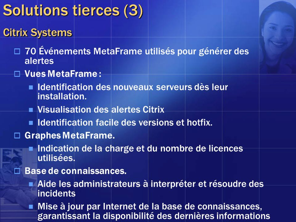 Solutions tierces (3) Citrix Systems