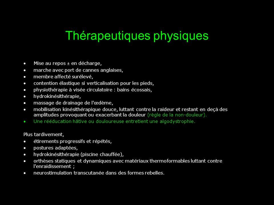 Thérapeutiques physiques