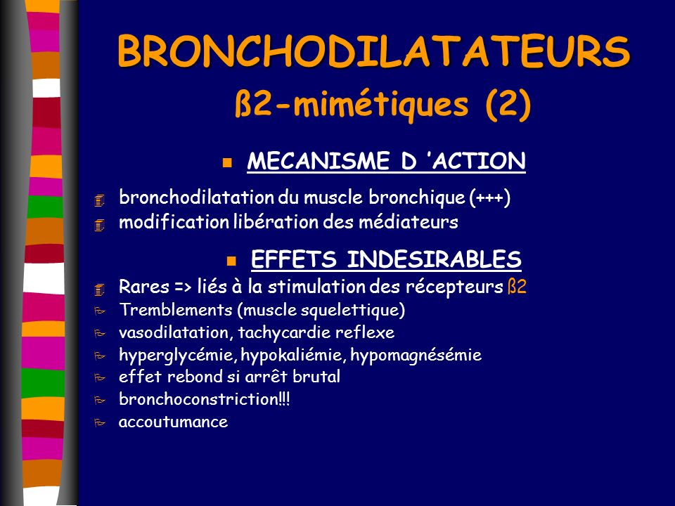 BRONCHODILATATEURS ß2-mimétiques (2)