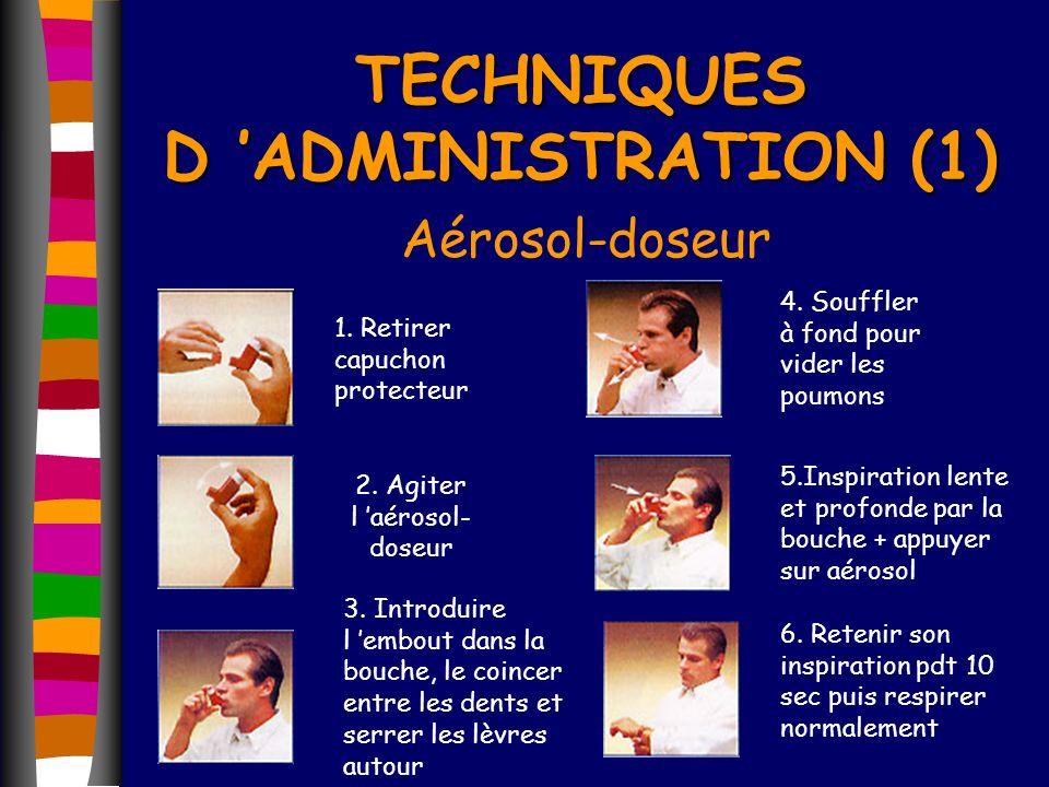 TECHNIQUES D 'ADMINISTRATION (1)