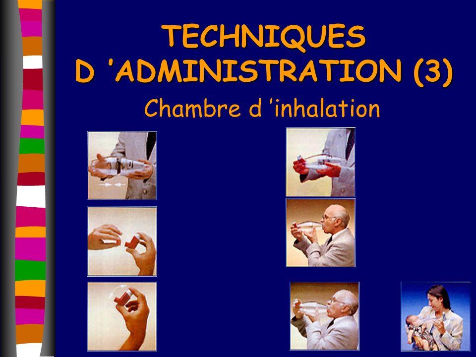 TECHNIQUES D 'ADMINISTRATION (3)