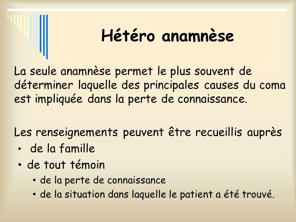 Hétéro anamnèse