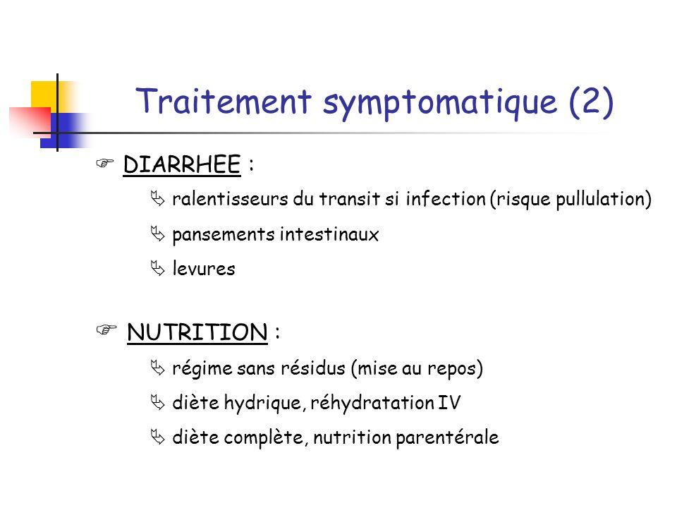 Traitement symptomatique (2)