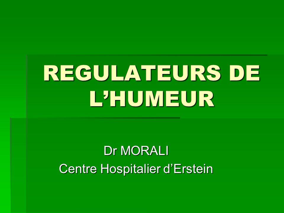 REGULATEURS DE L'HUMEUR