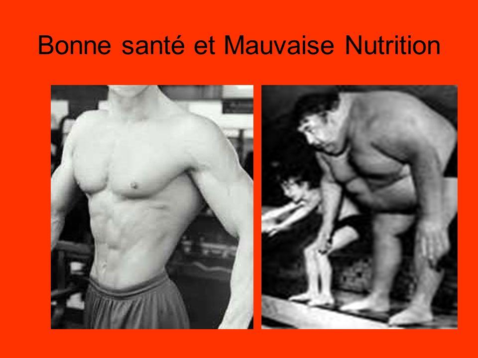 Bonne santé et Mauvaise Nutrition