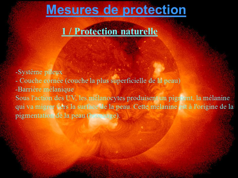 1 / Protection naturelle