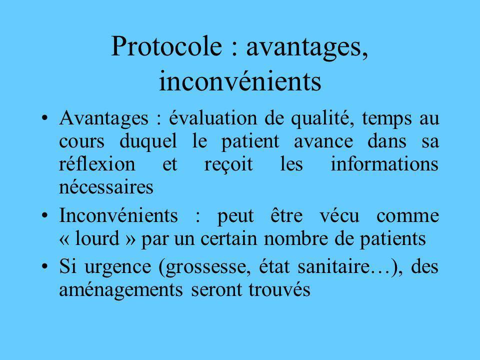 Protocole : avantages, inconvénients