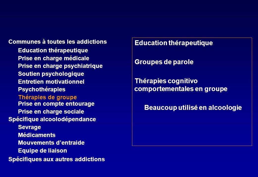 Education thérapeutique Groupes de parole