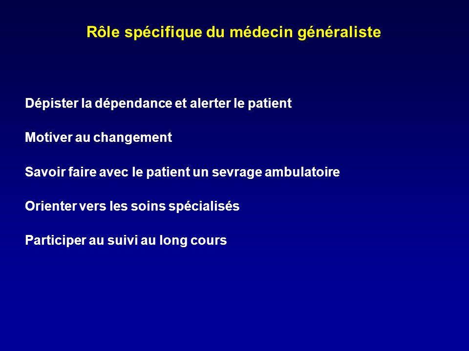 Rôle spécifique du médecin généraliste