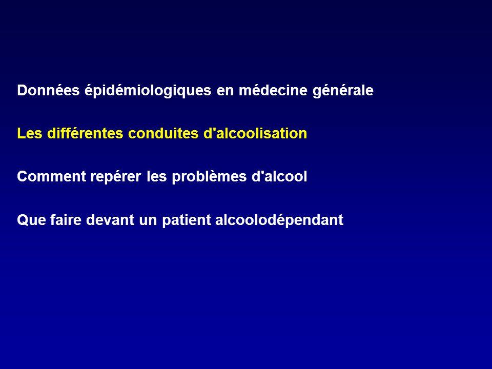 Données épidémiologiques en médecine générale