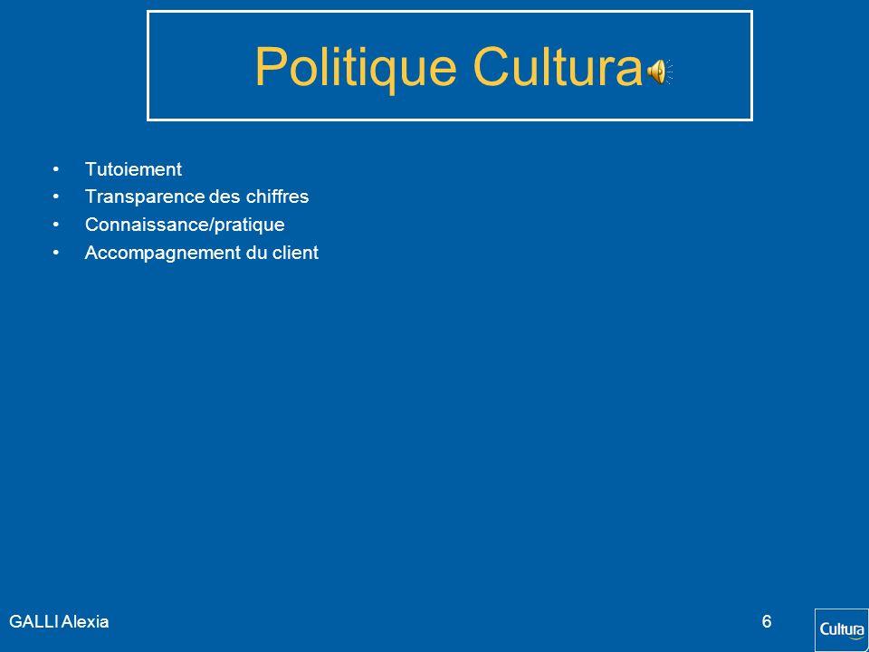 Politique Cultura Tutoiement Transparence des chiffres