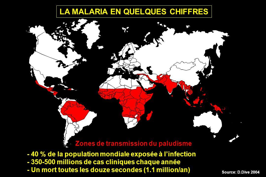LA MALARIA EN QUELQUES CHIFFRES