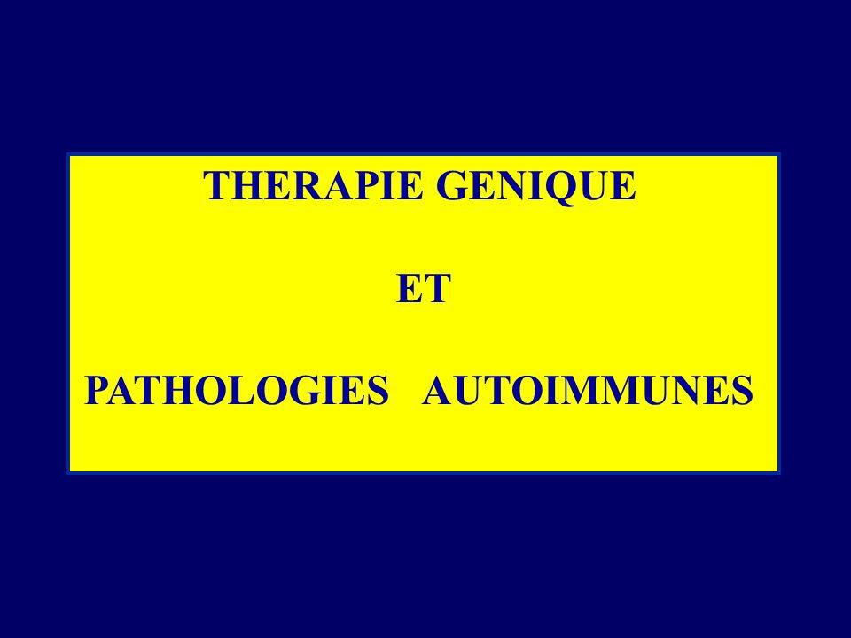 PATHOLOGIES AUTOIMMUNES