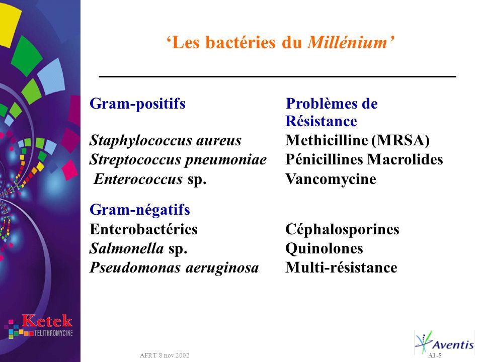 'Les bactéries du Millénium'